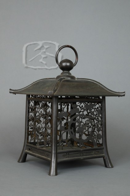 #ACC404 Fine Late 18th Century Copper Lantern