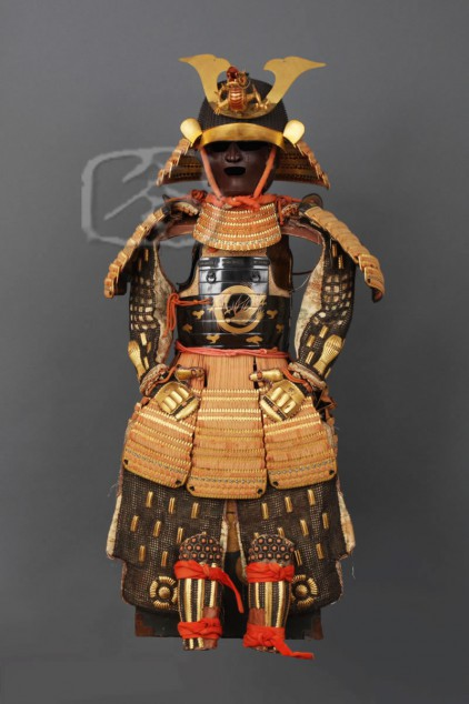 #AR5021 18th Century 'Warabe Gusoku' (Child's Armour)