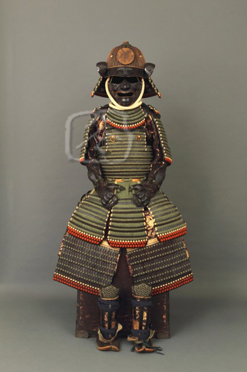 #AR502 17th Century 'Moegi Odoshi Nimai-Dou Gusoku' (Green Laced Armour)
