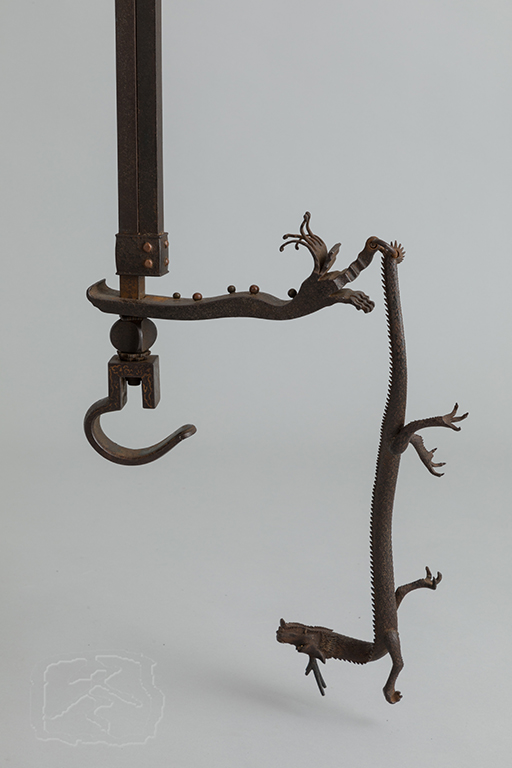 IRON 'JIZAI'(POT HOOK)